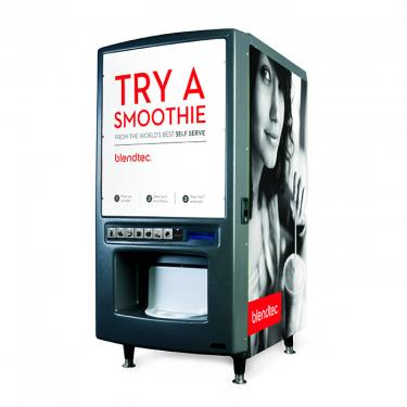 blendtec self serve smoothie machine