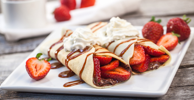 Blendtec Crepes recipe