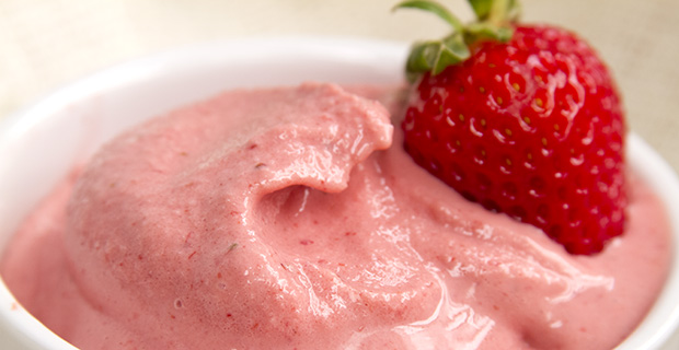 Quick Strawberry Ice Creamrecipe