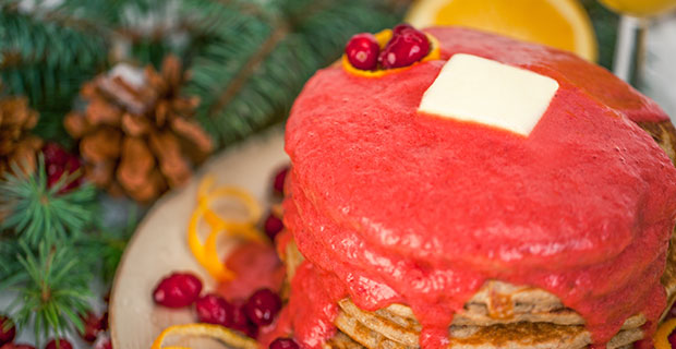 Cranberry-Orange Pancakesrecipe