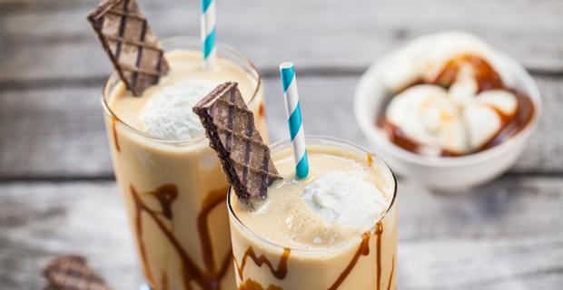 Banana-Cajeta Milkshake