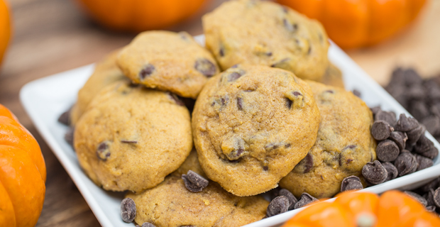 Pumpkin Chocolate Chip Cookiesrecipe