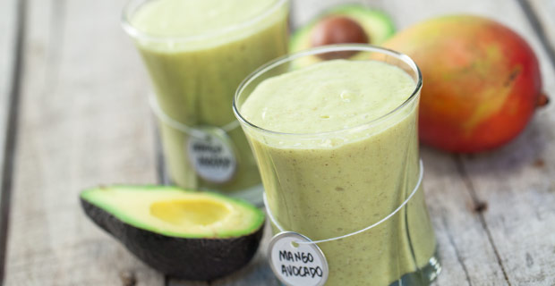 Mango-Avocado Smoothierecipe