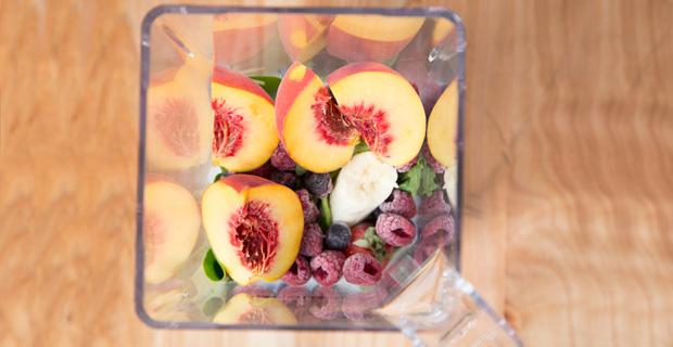 Skinny Peach Berry Smoothierecipe