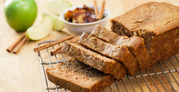 Apple-Cinnamon Breadrecipe