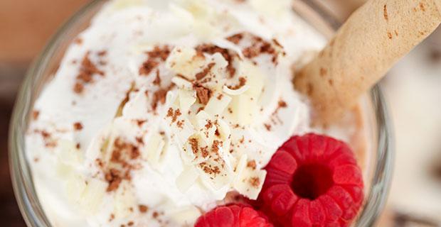 Raspberry and White Chocolate Mocharecipe