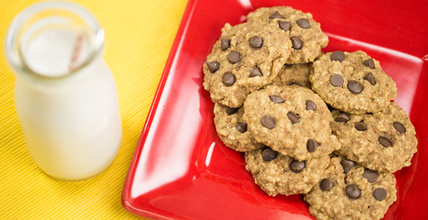 Almond Chocolate Chip Cookiesrecipe