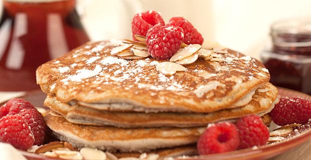 Gluten-Free Raspberry Pancakesrecipe