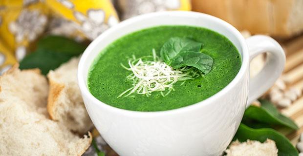 Velvety Spinach Souprecipe