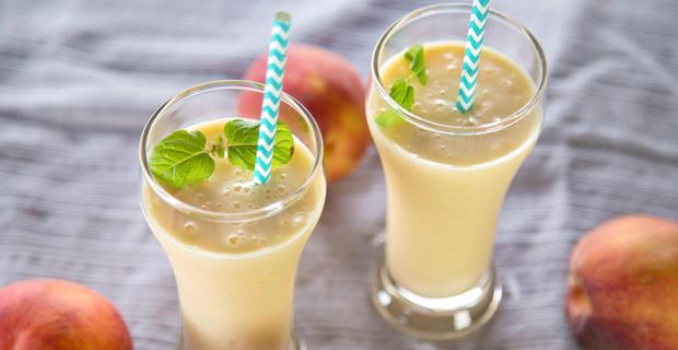 Peach Yogurt Coolerrecipe
