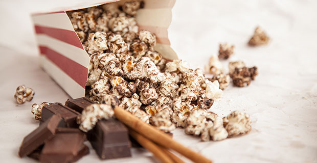 Chocolate-Cinnamon Popcornrecipe