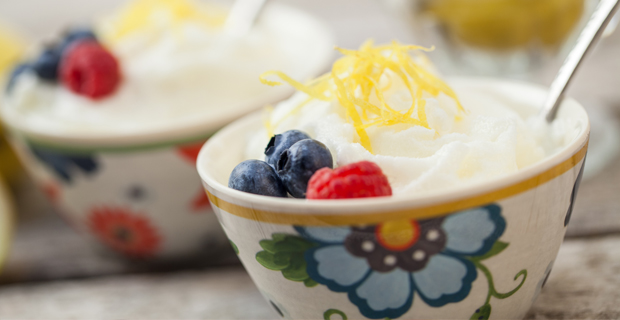Lemon Frozen Yogurtrecipe