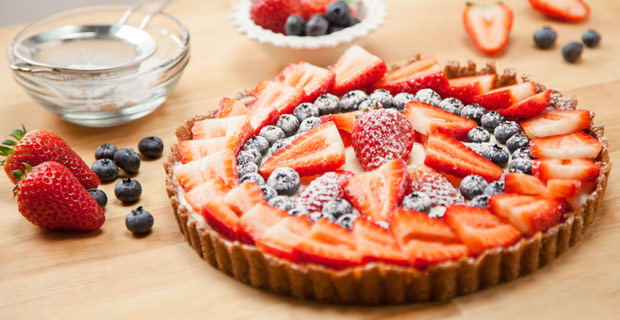 Berry Cheese Tartrecipe