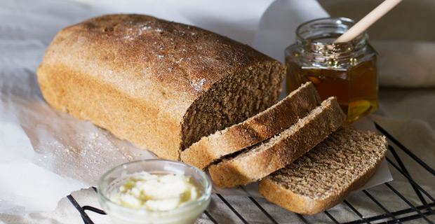 Honey Whole Wheat Breadrecipe