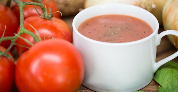 Creamy Tomato-Basil Souprecipe