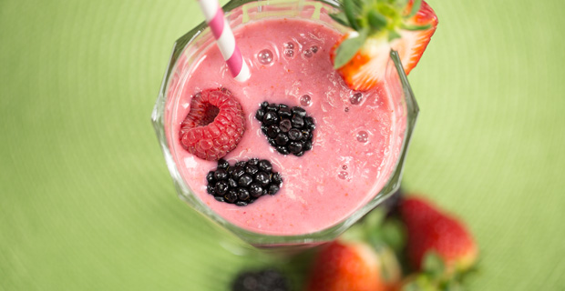 Vegan Berry Smoothierecipe