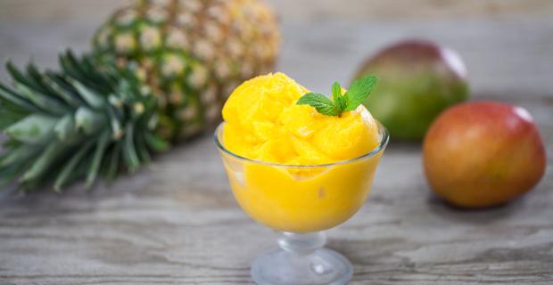 Mango Pineapple Sorbetrecipe
