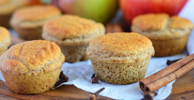 Healthy Apple Cider Donut Muffinsrecipe
