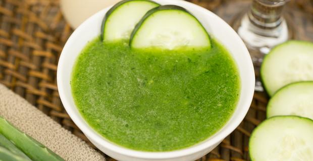 Aloe-Cucumber Freshenerrecipe