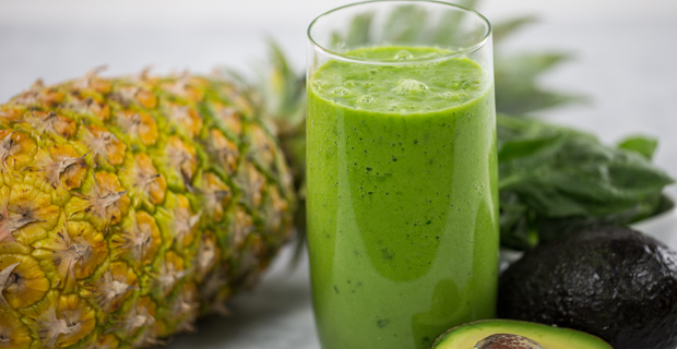 Green Pineapple Paradiserecipe