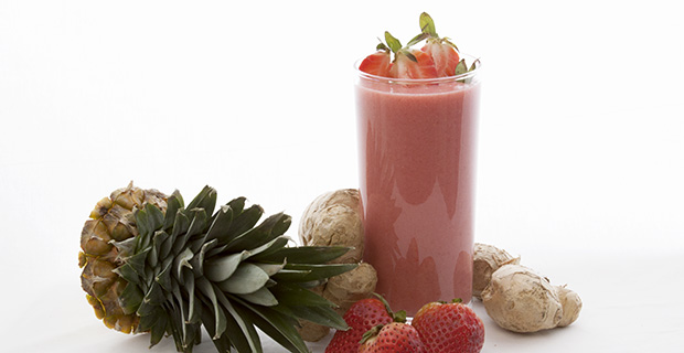 Strawberry-Ginger Refresherrecipe