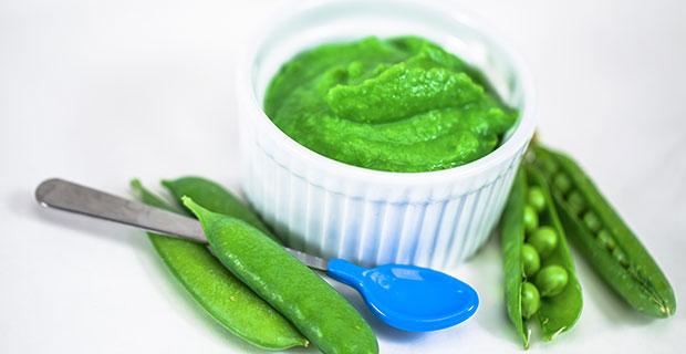 Steamed Peas Baby Foodrecipe