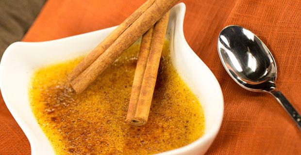 Spiced Crème Brulee recipe