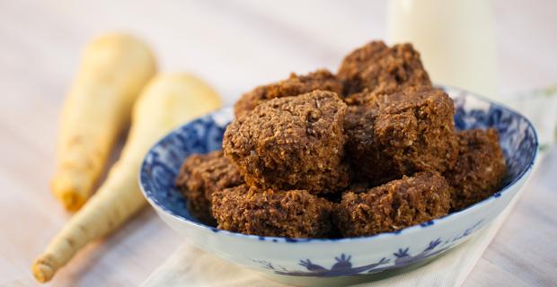 Spiced Parsnip Muffinsrecipe