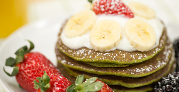 Green Smoothie Pancakesrecipe