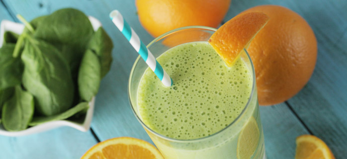Orange Greensicle Smoothie