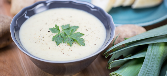 Creamy Potato-Leek Soup