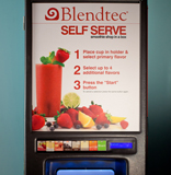 Self Serve Smoothie Machine