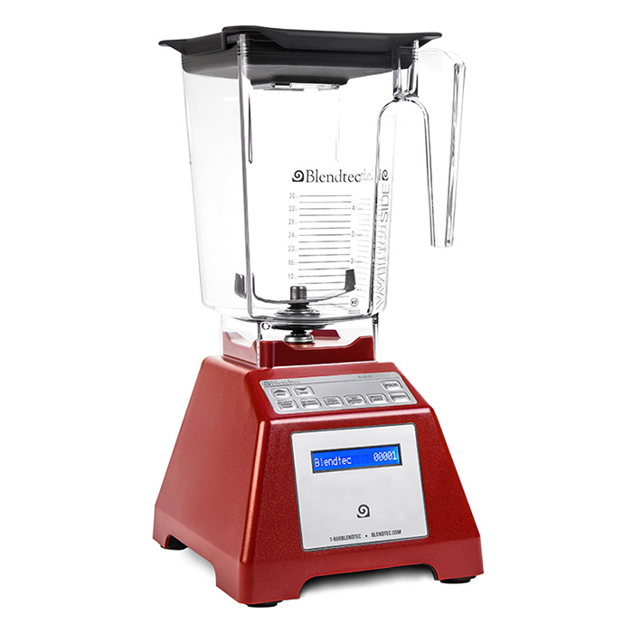 Black total blender classic wildside blendtec for What brand of blender is used on the chew
