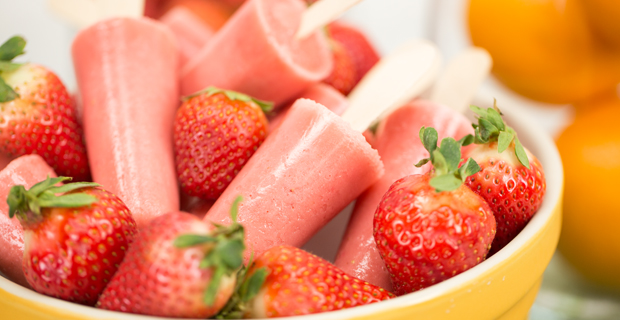 Strawberry Orange Yogurt Popsrecipe
