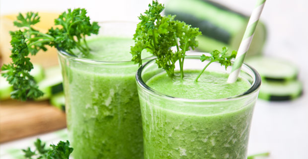 Parsley-Passion Green Smoothierecipe