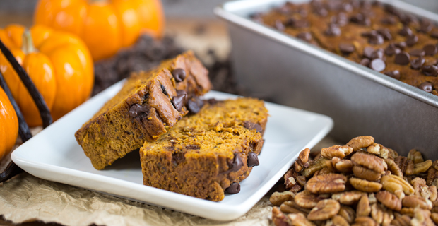 Spiced Pumpkin Breadrecipe