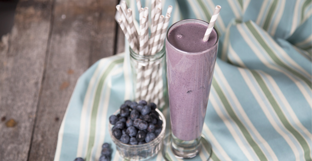 Blueberry Oatmeal Smoothierecipe