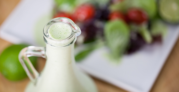 Creamy Lime Salad Dressingrecipe