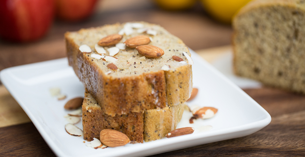 Almond Poppy Seed Breadrecipe